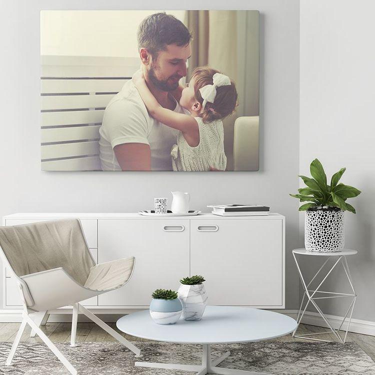 Lienzo con foto personalizada