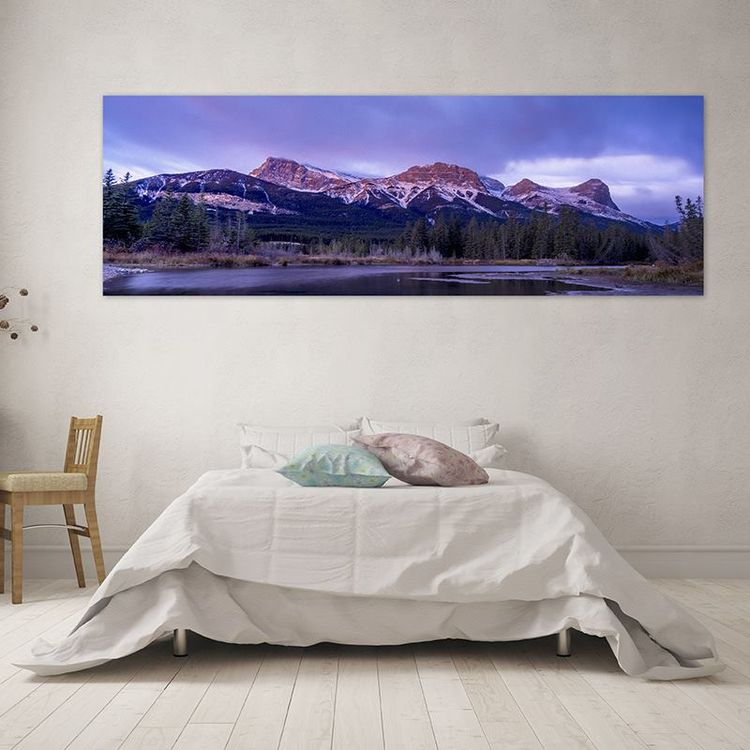 lienzos panorámicos personalizados