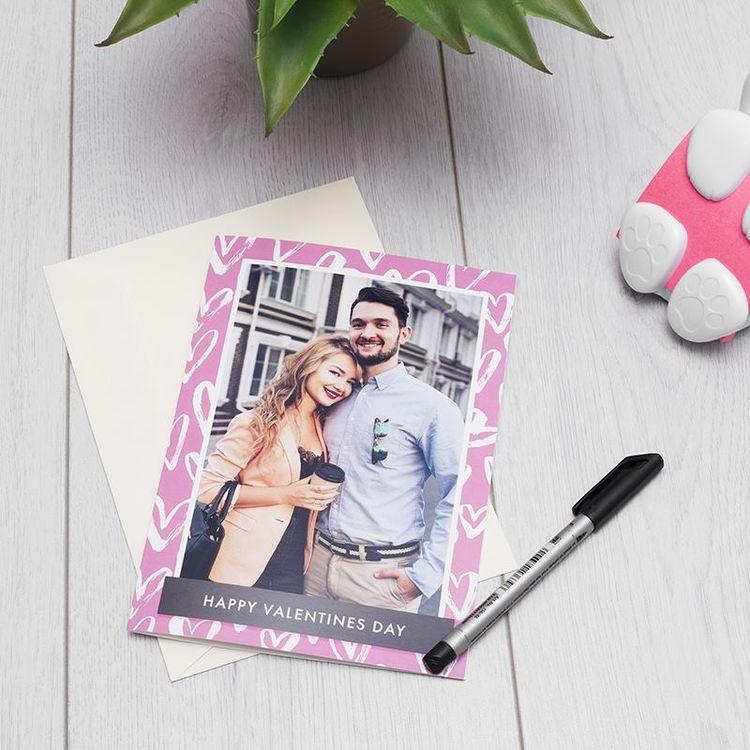 Tarjetas para San Valentín con foto