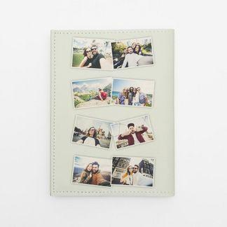 Porta Passaporto Con Collage