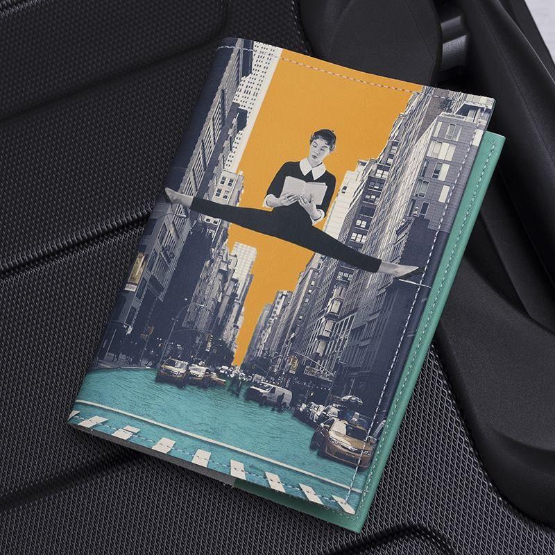 Etui passeport personnalisé avec votre design