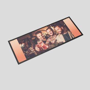 personalized bar mat