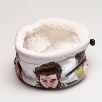 braga de cuello polar personalizada online