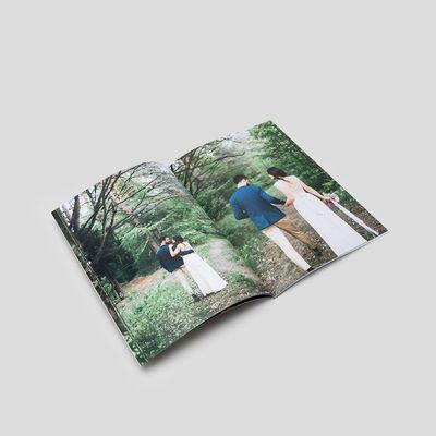 livre photo à couverture souple a4