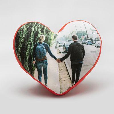 cojines romanticos corazones personalizados