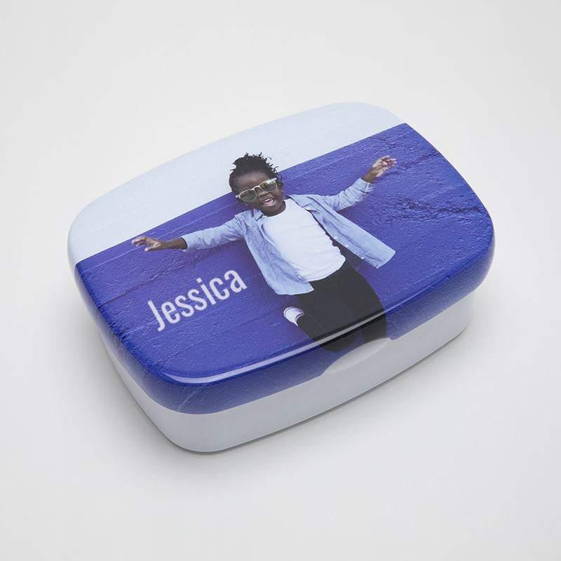 brotdose mit foto bedrucken foto brotdose selbst gestalten mit namen. Black Bedroom Furniture Sets. Home Design Ideas