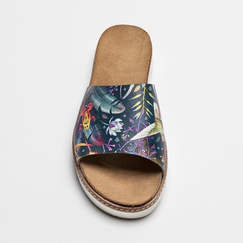 custom slides footwear