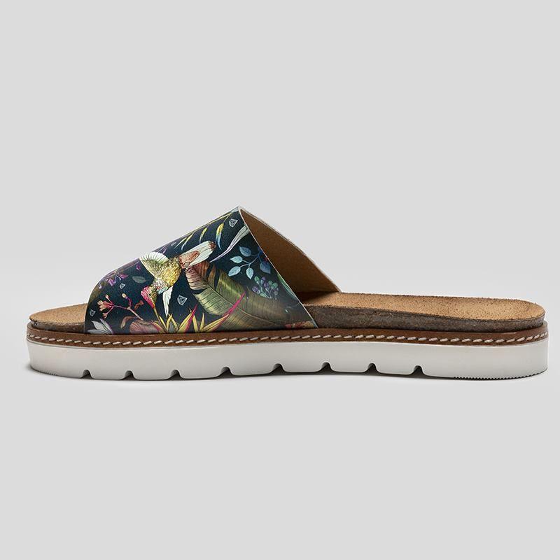 custom slide sandals