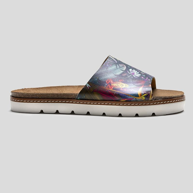 custom slides shoes