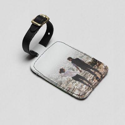 Custom printed luggage tags
