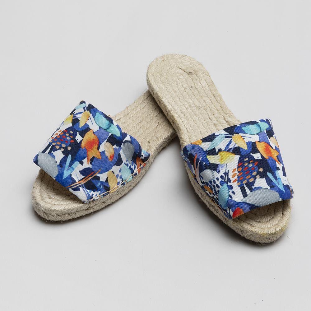 Sandali in corda personalizzati