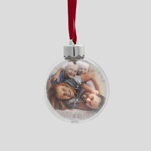 photo Christmas bauble