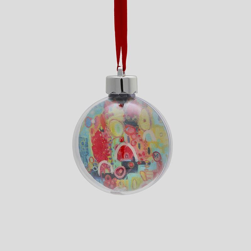 custom Christmas baubles