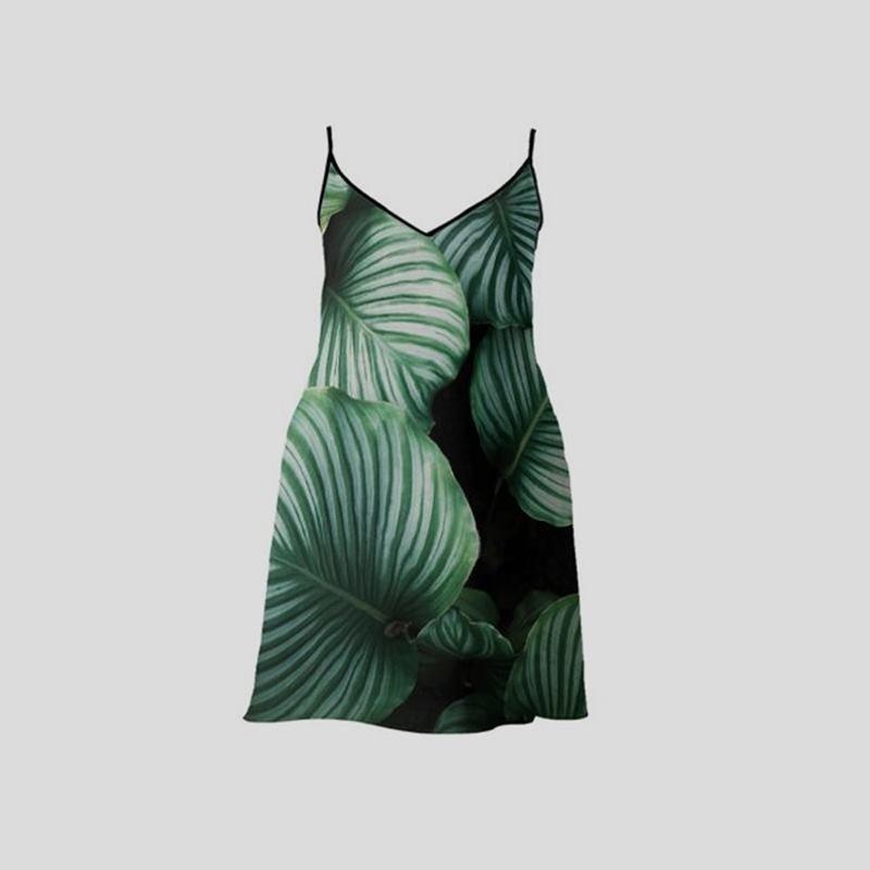 custom long slip dress for ladies