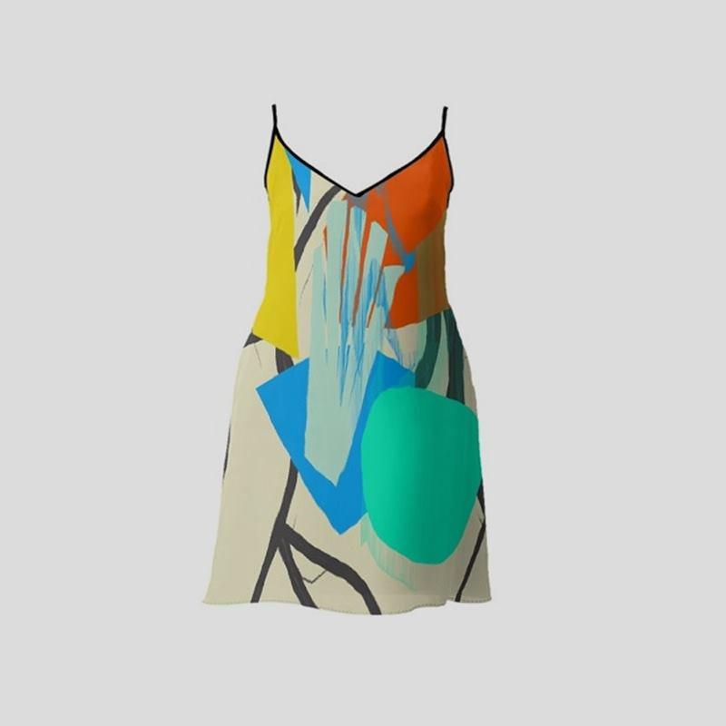 stampa i tuoi disegni su un abito sottoveste