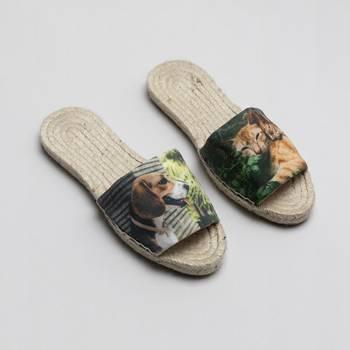 gepersonaliseerde espadrille slippers