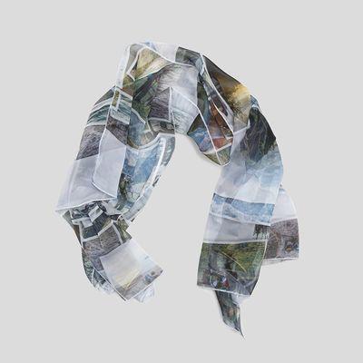 foulard imprimé personnalisé