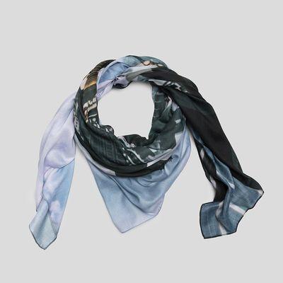 gepersonaliseerde zijden of chiffon sjaal