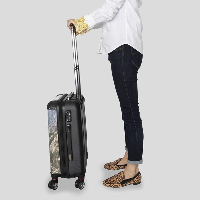231338753f custom suitcase. suitcase initials. TSA locking details photo printed  suitcase. Design Your Own Suitcase holiday