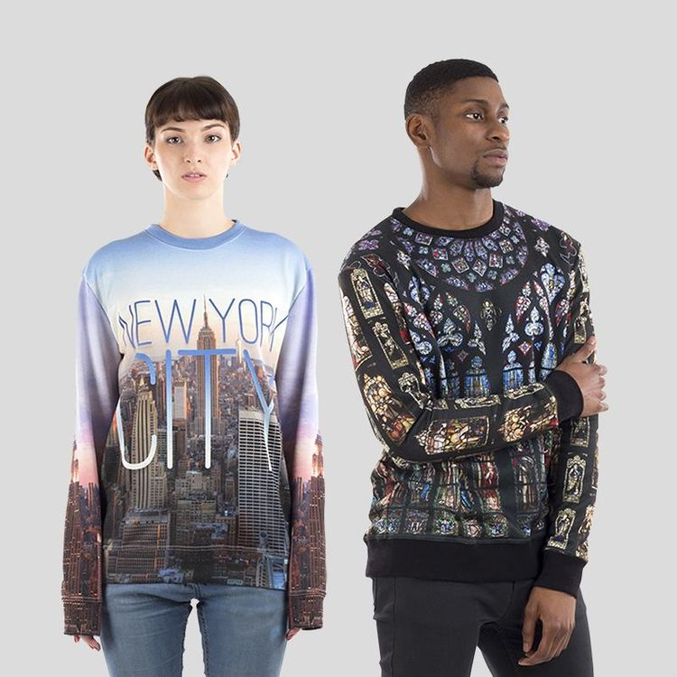 Sweatshirt personnalisé unisexe