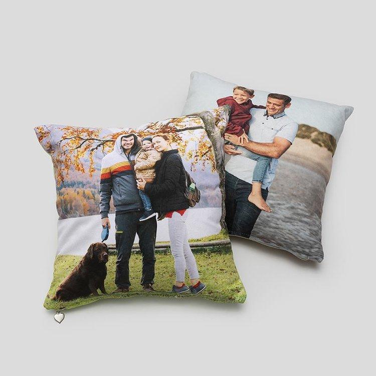 set of custom pillows