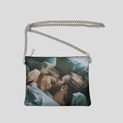 bolso de mano personalizado con cadena fotos