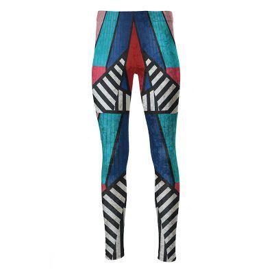 high waisted printed leggings
