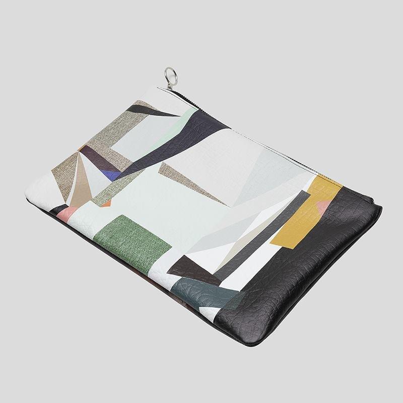 Pochette in Pelle con disegno personalizzato