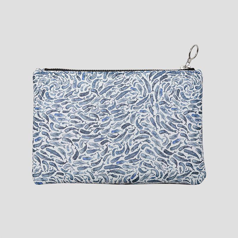 bolso de mano de cuero personalizado
