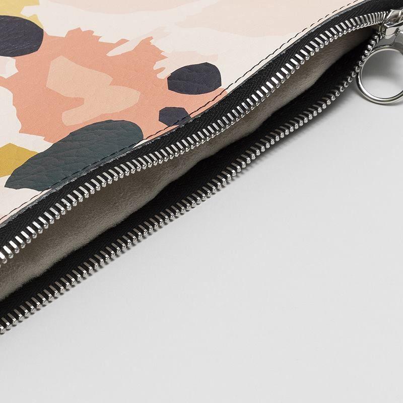 bolso de mano con cadena personalizado cremallera