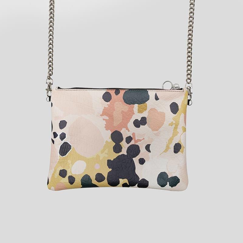 bolso de mano con cadena personalizado diseño
