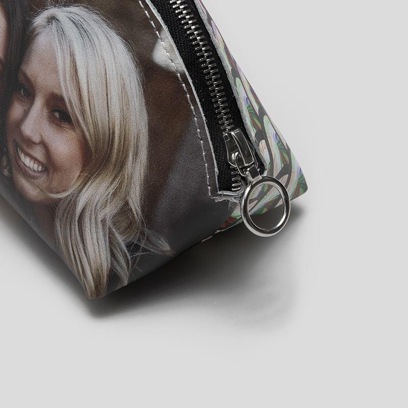 20 Cm X 14 Cm. Handtaschen-accessoires PräZise Kosmetiktasche Selbstgemacht Blauer Stern Ca