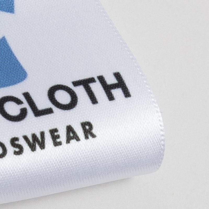 Fabric Label edge detail