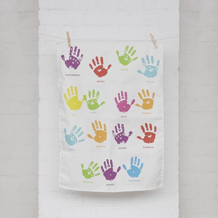 school tea towel printing