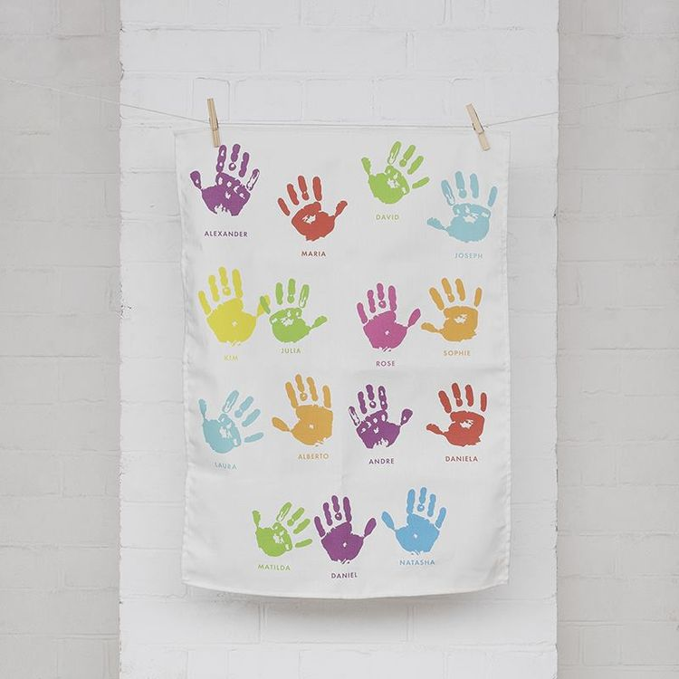 tea towel printing for schools