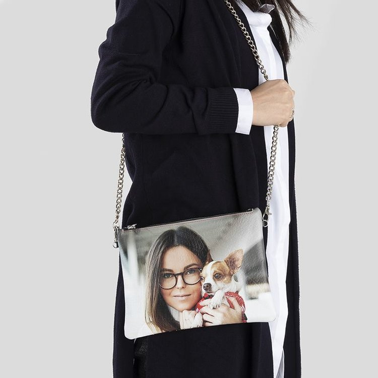 leather crossbody bag personalised