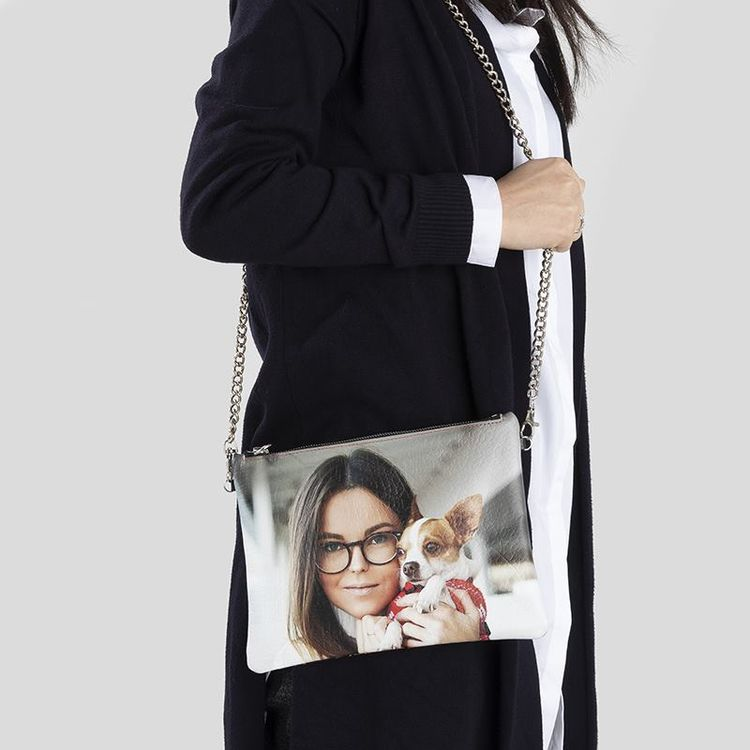 personalised crossbody bag lifestyle shoulder