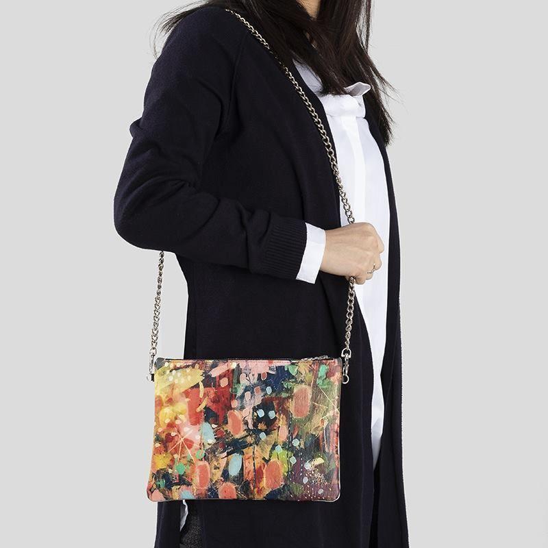 Custom Leather Crossbody Bag