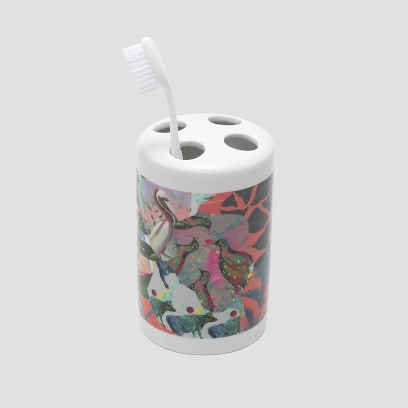 custom toothbrush holder