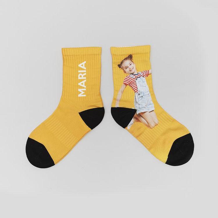 personalized name socks