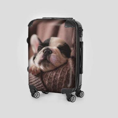 gepersonaliseerde koffer met foto