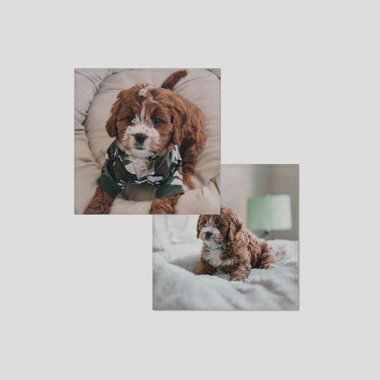 Mouchoir personnalisé avec photo de chien