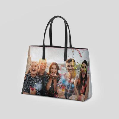 tote bag bolso personalizado cuero