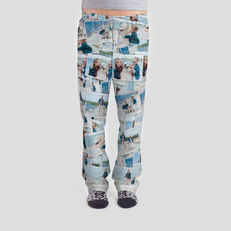 5eb0a271bd Personalized Photo Pajamas Photo Pajamas Custom Printed ...
