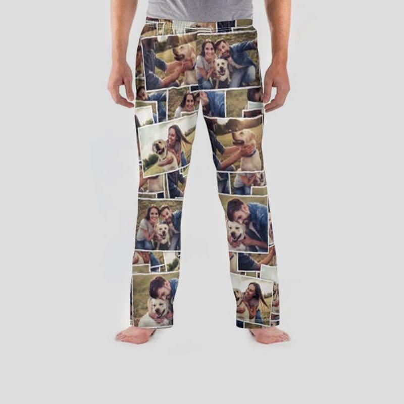 91cd54b27c Personalised Pyjamas Adults UK. Men's Personalised Pyjamas