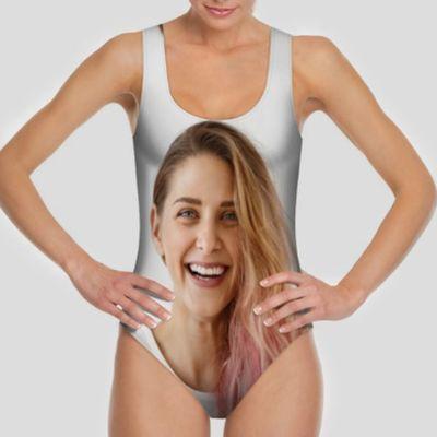 face swimsuit