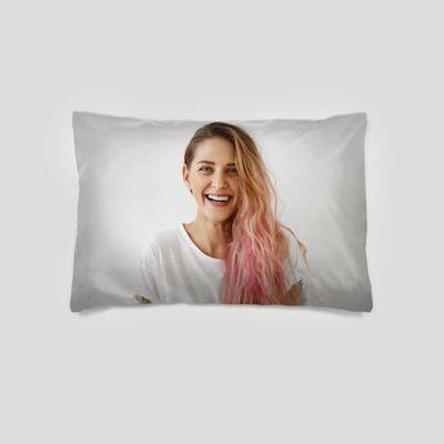 funda de almohada personalizada cara