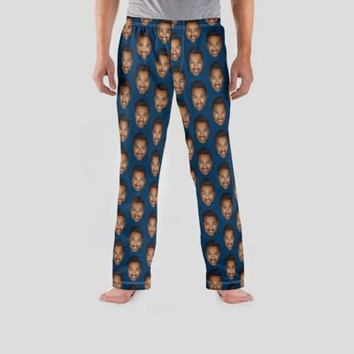 pyjamabroek met gezichten