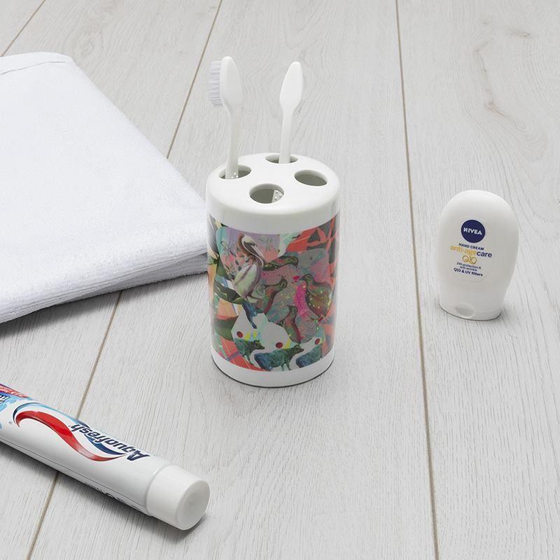 Porte brosses à dents avec design