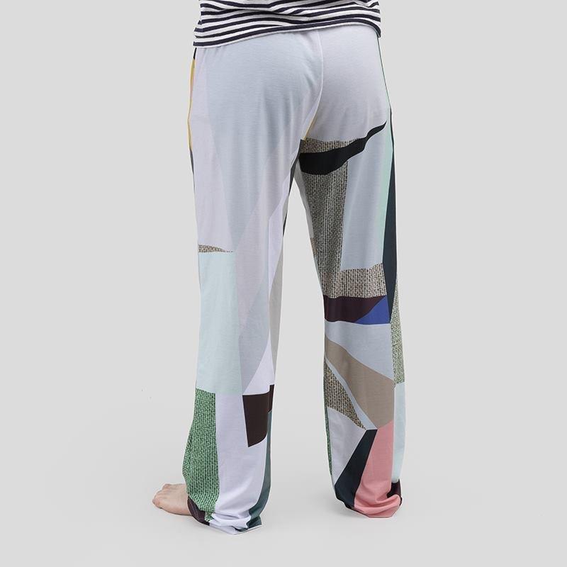 Detail back of Pyjama bottoms fabric details